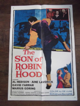 Son of Robin Hood, Movie Poster, Al Hedison, June Laverick, David Farrar '59